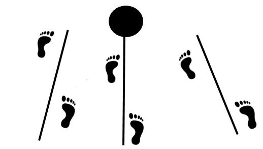 Boxing footwork 45