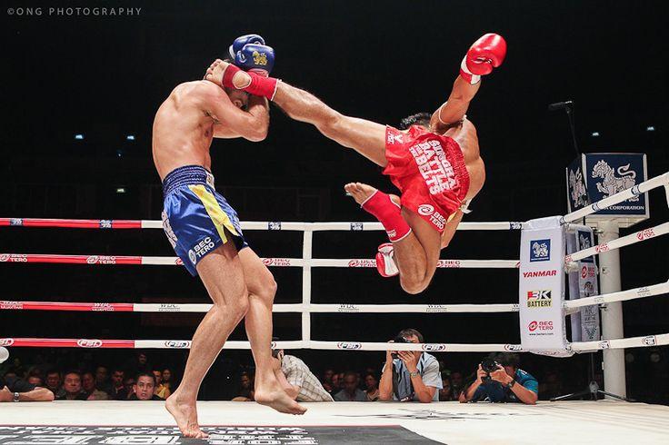 Muay Thai Combo Kicks