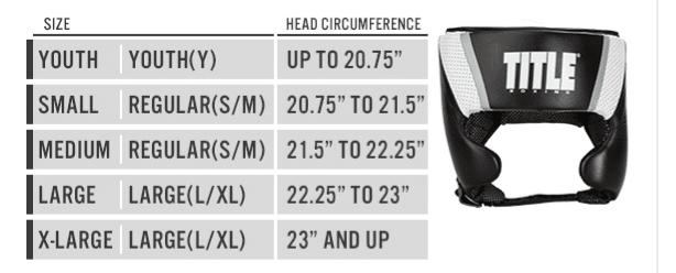 Size headgear 2