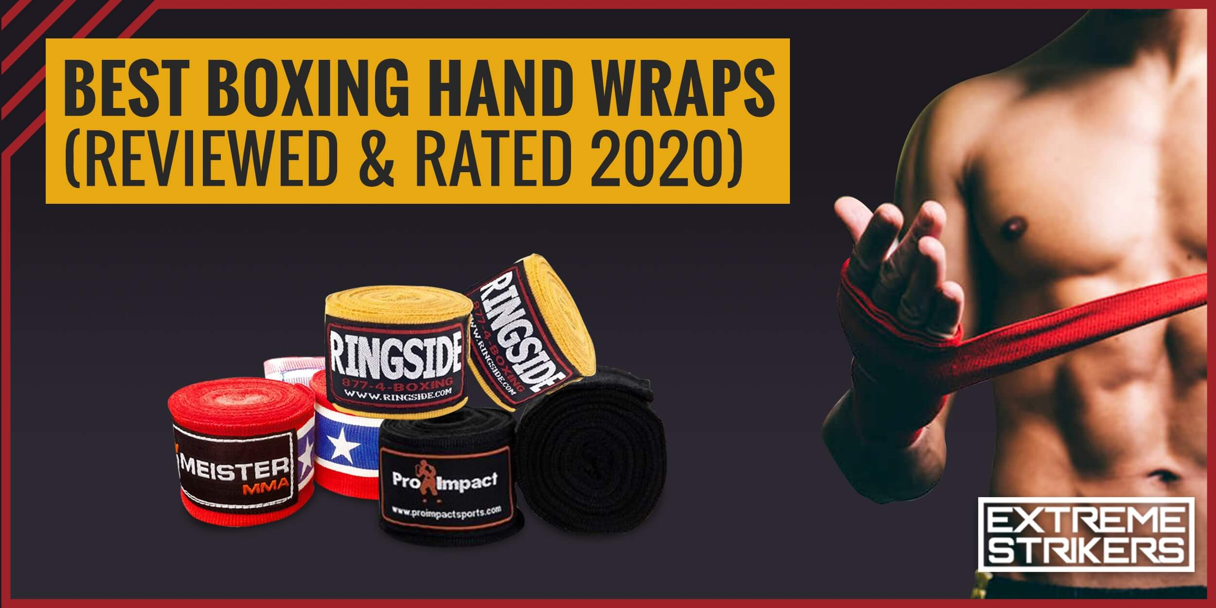 Best Boxing Hand Wraps (Reviews & Rating 2021)